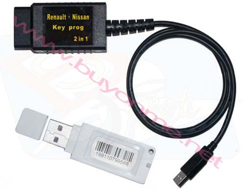 Renault + Nissan Key Prog 2 in 1